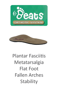 Pedors Beats Orthotic Inserts for Plantar Fasciitis and Metatarsalgia