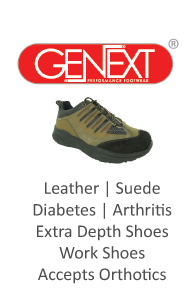 Genext Performance Footwear for Diabetics