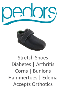 Pedors Footwear for Diabetes Arthritis Corns Bunions Hammertoes