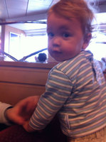 Ben on a Ferry Boat