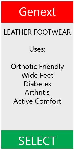 Genext Leather Orthopedic Shoes