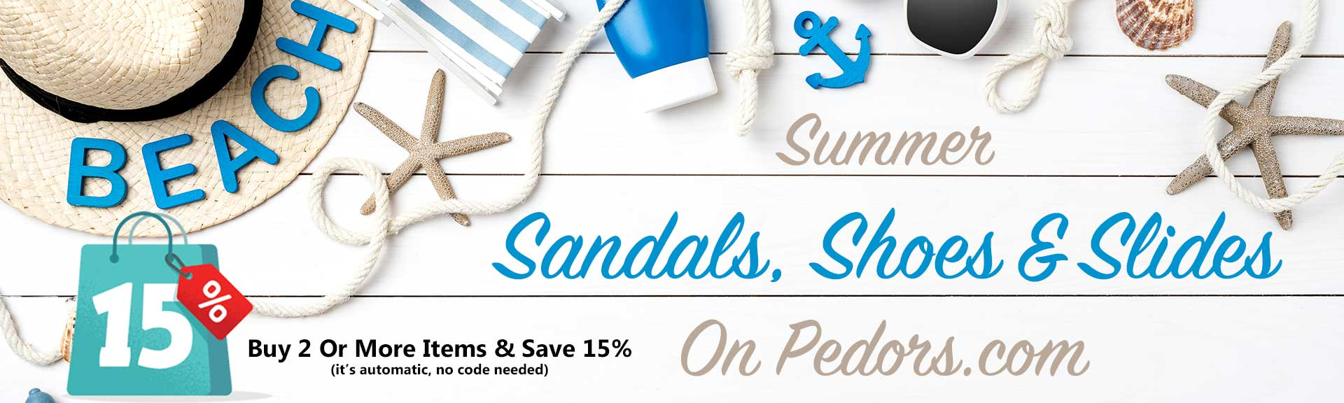 The Summer Section Of Shoes, Sandals & Slides on Pedors.com